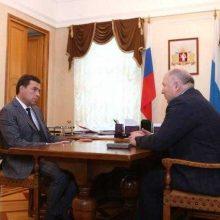 Евгений Куйвашев обсудил итоги выборов в органы местного самоуправления области