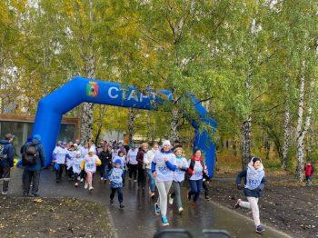 Первоуральск отметил всероссийский День бега. В Корабельной роще прошел «Кросс нации-2021»