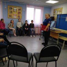 Встреча с воспитанниками дворового клуба «Голубь мира»