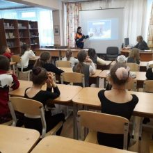 Встреча с воспитанниками «Центра детского творчества».