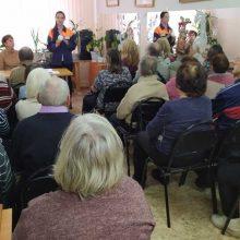 Встреча с посетителями «Всероссийского общества слепых» г. Первоуральска