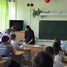 Открытый урок школе №7 г. Первоуральска
