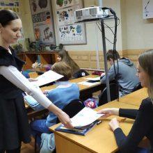Встреча с учениками автомобильной школы ДОСААФ.