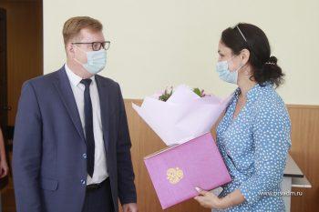 Семья Павловых из Первоуральска получила сертификат на улучшение жилищных условий